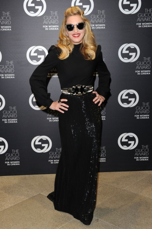 Madonna, 68th International Film Festival - Venice 2011