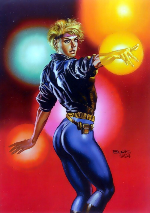 Dazzler by Boris Vallejo