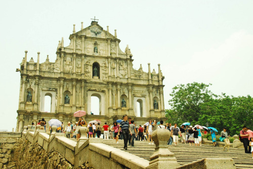 Ruins of St. Paul. Macau, China submitted by: sherdiu, thanks!