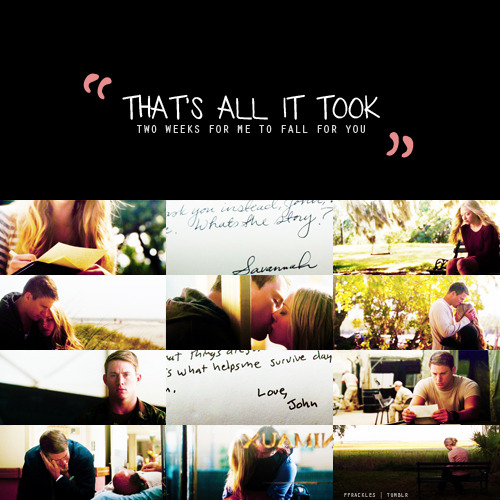"Movies worth rewatching {in no order}× Dear John, 2010 ""A romantic drama about a soldier who falls for a conservative college student while he's home on leave."""