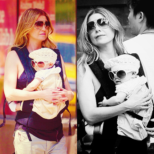 60 days of Ellen Pompeo (candids/appearances) (★) 57# out in NYC with Stella -  May 4, 2010