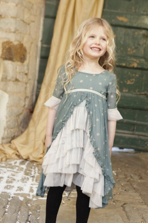 ilovegorgeous Buffalo Dress Teal from Tyler and Tallulah love this for a flower girl dress