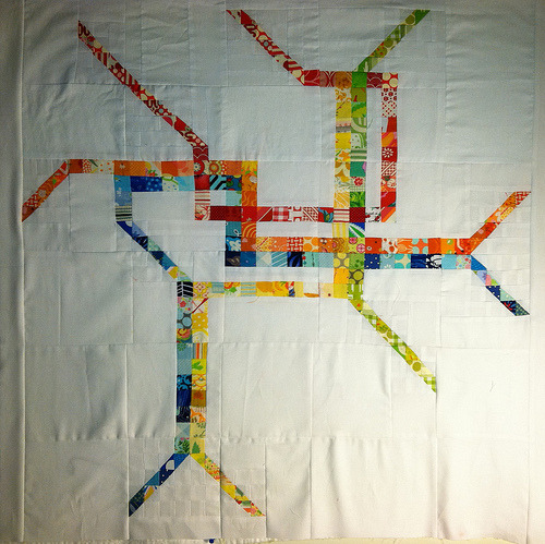 dc metro quilt top (by dana and thread)