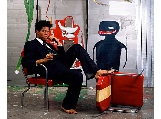 wherethefwereyou:    NYT: Jean-Michel Basquiat – Hip-Hop Finds an Artist to Believe In