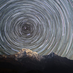 Head Spinning Himalaya (Carousels Earth) by Anton Jankovoy