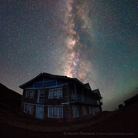 House on the Milky Way Road by Anton Jankovoy