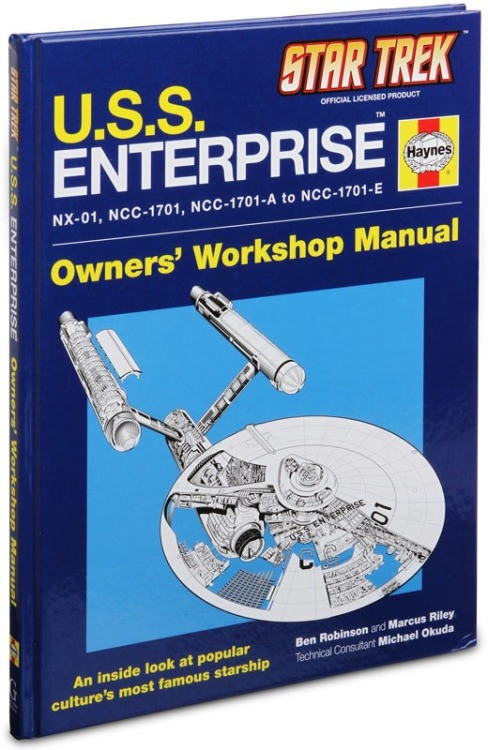 laughingsquid:  Star Trek U.S.S. Enterprise Owners, Workshop Manual