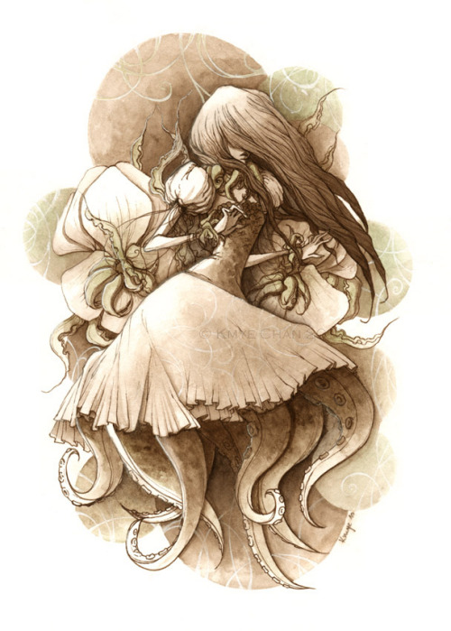 danceabletragedy:  Octopus Girl