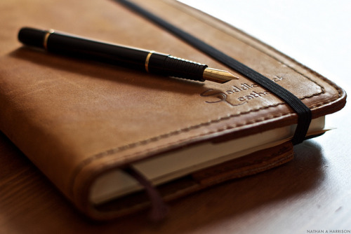 introducingmrbentley:  Moleskine & Waterman    303/365 by EspressoTime