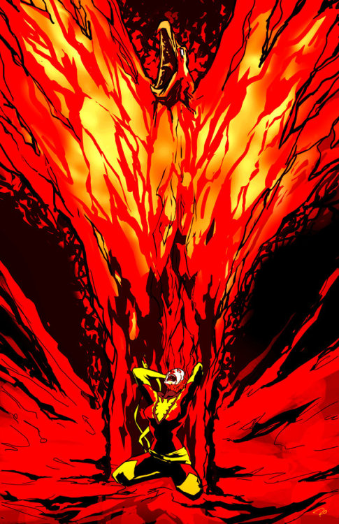 dollabeels:  Dark Phoenix    Amazing.