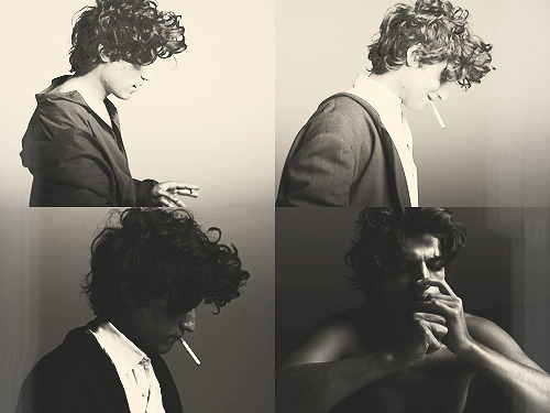 A good-looking, depressed guy smoking a cigarette is not a movie. I beg to differ.