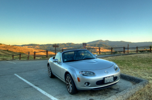My Miata on the Hill by donjd2 on Flickr.#MiataMonday #Mazda