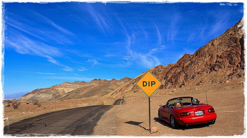 My 1994 Mazda Miata @ Death Valley, CA by patt_itt on Flickr.#MiataMonday #Mazda