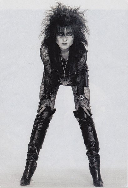 Siouxie Sioux singer of: Siouxie and the Banshees