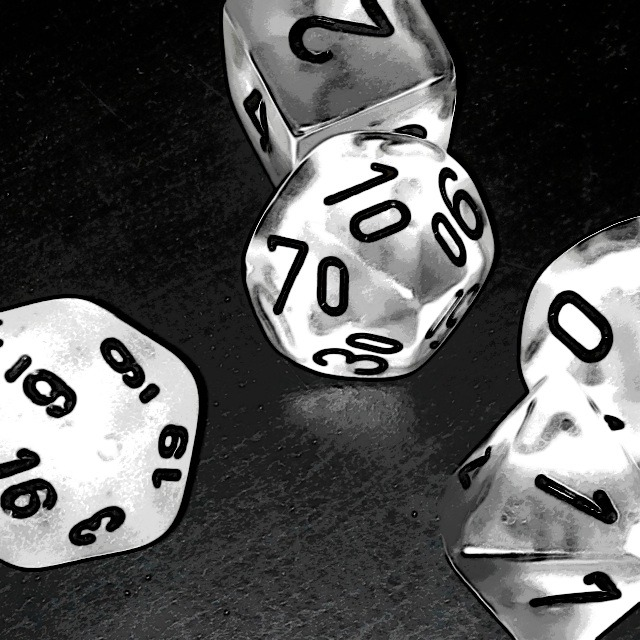 sametinepuiestee:  time to toss the dice
