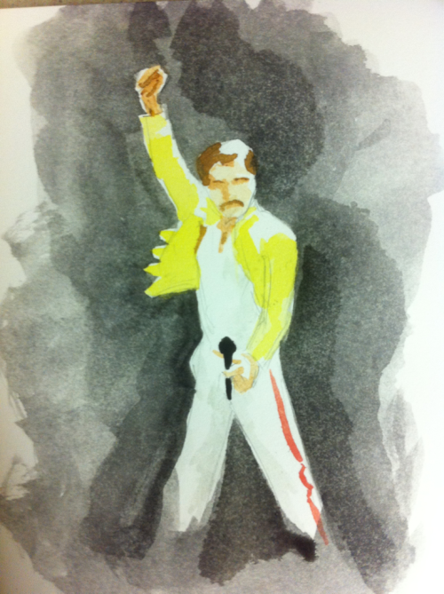 Happy birthday, Freddie.