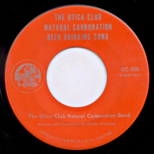 Utica Club Natural Carbonation Band - Utica club natural corbonation beer drinking song