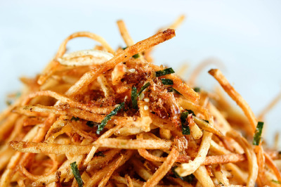 Japanese Furikake French Fries
