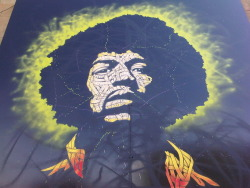 Jimmi Hendrix Art in Shoreditch London