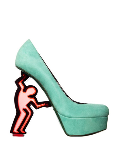 Keith Haring Collection Pump by Nicholas Kirkwood.