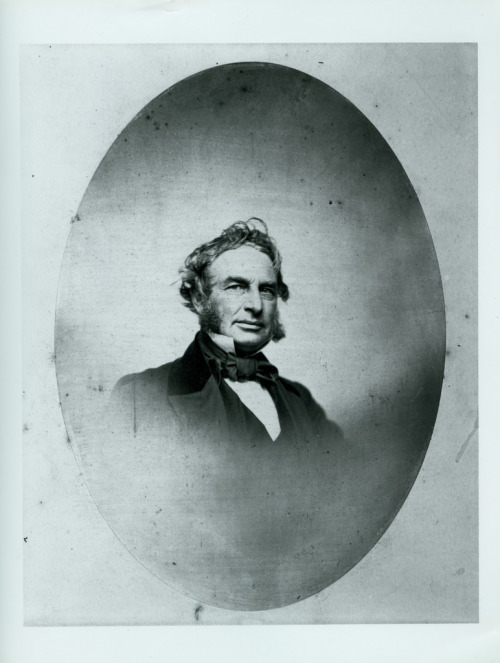 Poet Henry Wadsworth Longfellow, circa 1855.