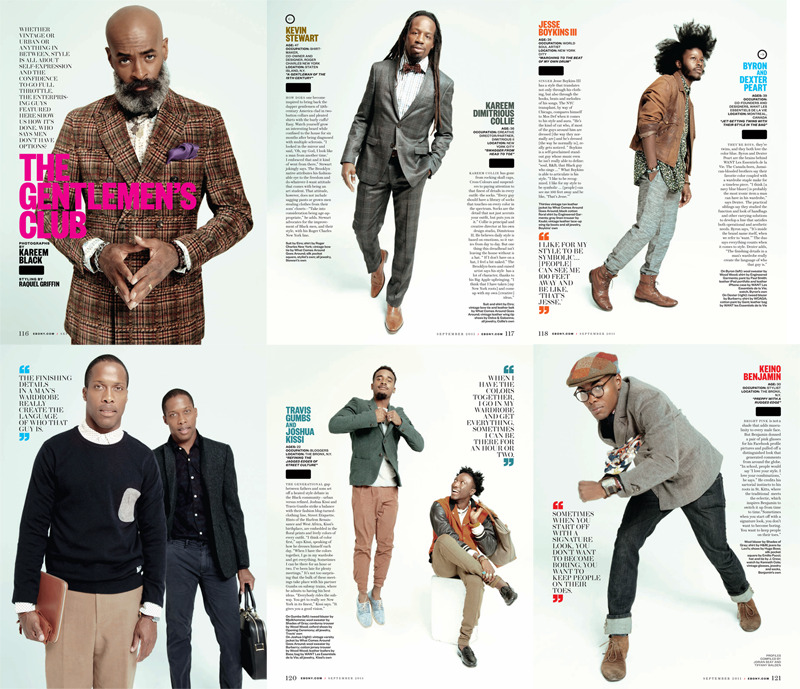 streetetiquette:  [The Gentleman's Club Spread] - Ebony Mag