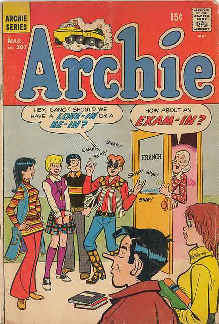 "If you've never heard of ""hippie hipster"" you've never met Archie Andrews."