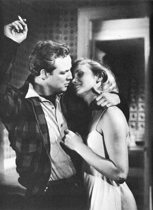 Marlon Brando and Eva Marie Saint in On The Waterfront (Elia Kazan, 1954)