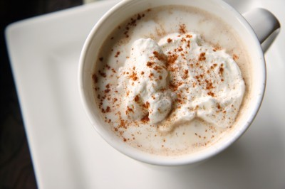 Pumpkin Spice Latte - Recipe (yum!) (via The Motherload)