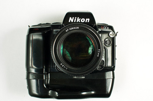jonbloom:  ANOTHER GIVEAWAY This time it's a Nikon N90s SLR Camera. I have 3 of these, and I want to get rid of one. Rules to Enter You must be following me. You must reblog this post. No multiple reblogs. You will be disqualified. I will pick a winner using a random number generator when this gets at least 500 notes, or one week. Whichever is later. Winner will be alerted through a message, and will get a promo on my blog. Camera comes with a Nikkor 35-80mm 1:4-5.6 Zoom Lens, a battery grip, and a MF-26 Databack. If you have any questions, let me know through my ask box. REMEMBER: You must follow and reblog this to be eligible.  Good luck!