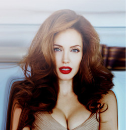 FEMME FATALE- Angelina Jolie I had to reblog this pic. How amazing does she look, OMG!!!!! I have to say I am an Angelia fan, she's okay in my book.  She has and always will live her life based on what works for her. A true original and completely unapologetic for it, which is very Madonna of her. At the end of the day, she is a woman, flaws and all, striving and working to constantly evolve. It doesn't get any more femme-tastic than that.