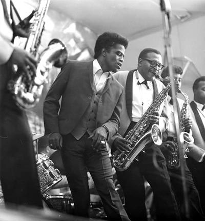 rootsnbluesfestival:  james brown and the j.b.'s