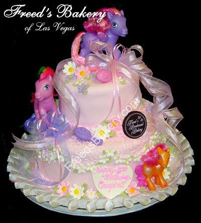 Rainbow Birthday Cake on My Little Pony Freed Does Awesome Shiz Cake Birthday Cake Pink