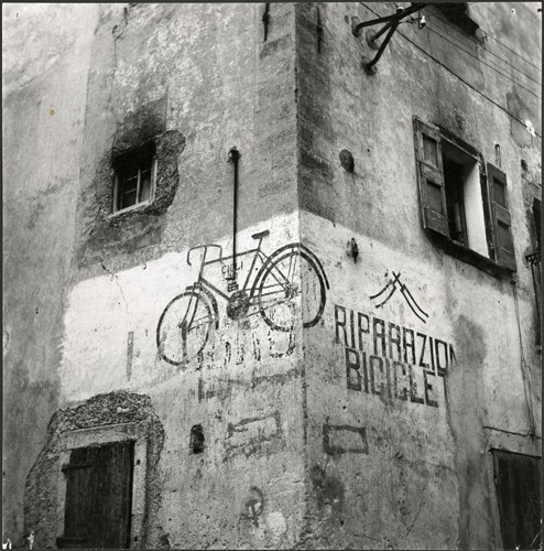 Bicycle ad. Italy, 1950