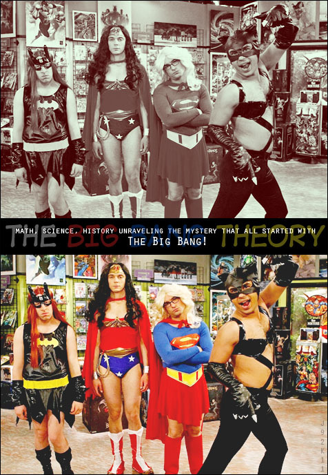 jinnywendy:  Giving superheroes a run for their money.