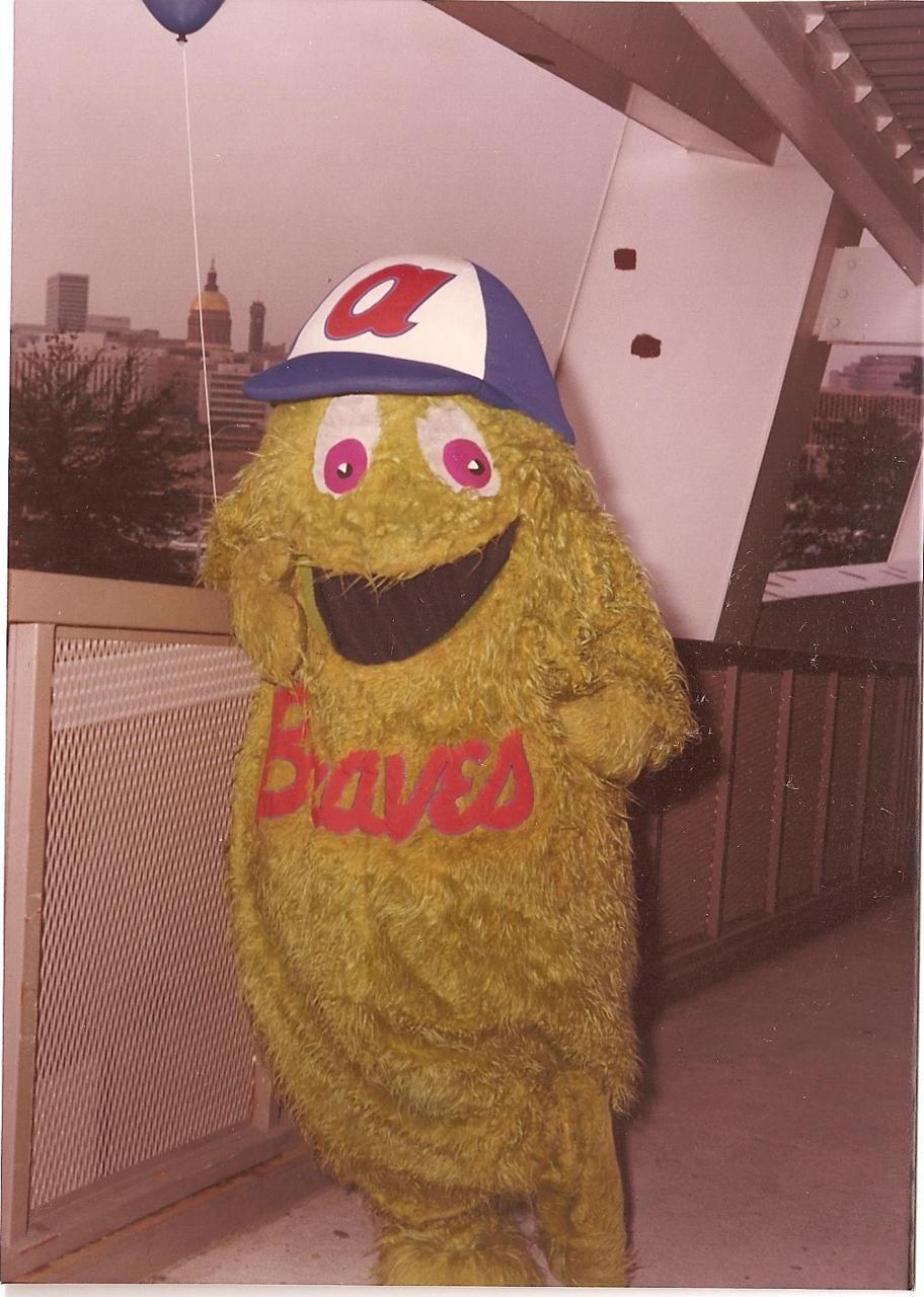 The Braves Bleacher Creature.