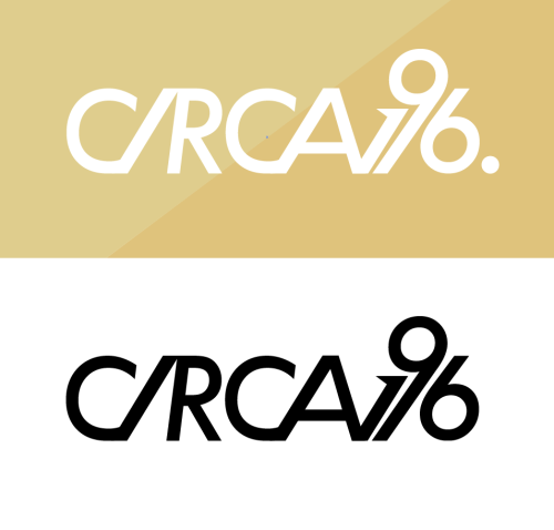 Logotype for fictional company: Circa196.com, a cultural webpage.