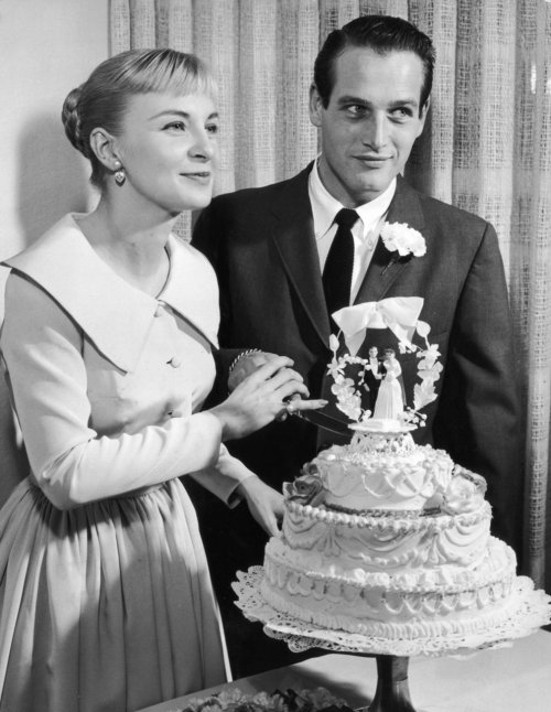 Weddings of hollywood 39 s great stars on pinterest chic for Paul newman joanne woodward love story