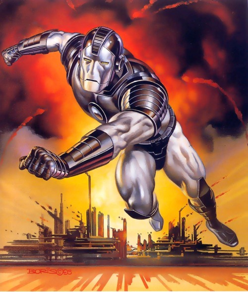 War Machine by Boris Vallejo