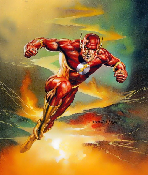 The Flash by Boris Vallejo