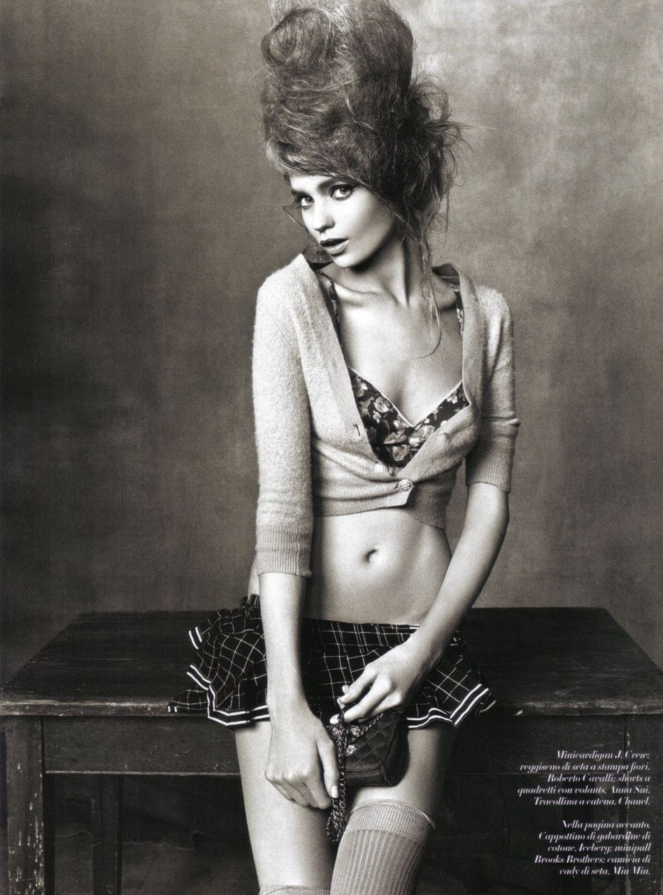 onlythininmydreams:  Abbey Lee Kershaw - Vogue Italia