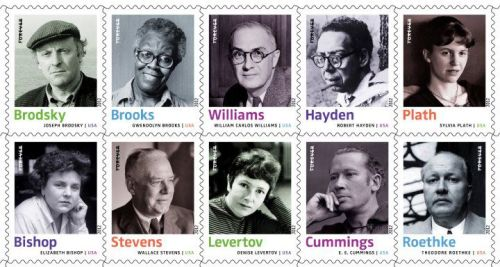 In 2012, the United States Postal Service will honor ten poets with their very own Forever Stamp: Elizabeth Bishop, Joseph Brodsky, Gwendolyn Brooks, E. E. Cummings, Robert Hayden, Denise Levertov, Sylvia Plath, Theodore Roethke, Wallace Stevens, and William Carlos Williams.   We're doubly excited about this because Joseph Brodsky's photograph was taken by the Unterberg Poetry Center's official photographer, Nancy Crampton! Read more about this Forever Stamp series on Beyond the Perf.   Over on the USPS Facebook page, they are encouraging fans to share a favorite poem from one of the poets.  And the 92Y Poetry Season kicks off it's 73rd season on September 26 with Seamus Heaney.   Are you 35 and under? Seamus Heaney and many other events at 92Y are available to you for just $10.