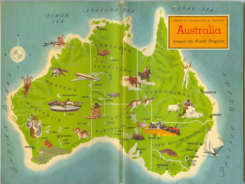 cartographymaps:Unknown, 1961, Australia