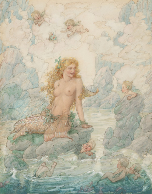 Harold Gaze - Mermaid and Angels