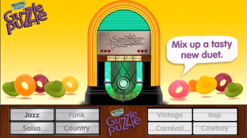 Make sweeeeeet music with the Guzzle Puzzle Jukebox from the Natural Confectionary Company! http://youtu.be/vgb6GcC7_sY