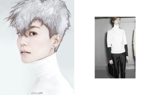 WHO faye wongWEAR turtleneck (céline fall–winter 2011–2012)WHY don't we all pray it is really céline?WHEN 2011