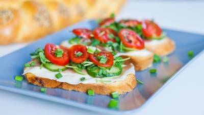 fattiesdelight:  Proscuitto and Veggie Sandwiches