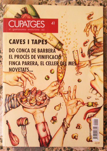 Coucou =:D Cover of Cupatges magazine illustrated by  Lapin Sauvage Couverture du magazine Cupatges illustrè par Lapin Sauvage Tapa de la revista Cupatges ilustrada por Lapin Sauvage 2011 Selectionated by Arts Moved => http://www.artsmoved.cat/ See more stuff of mine here:
