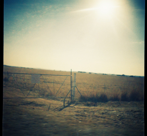 More of my lomography. Somewhere outside my home town.