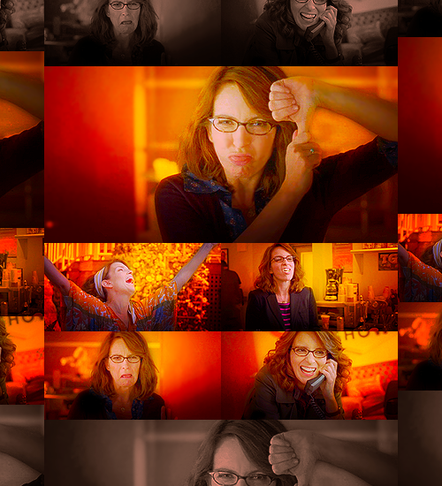 Color meme↳ Liz Lemon in orange | Requested by heyiamwhatiam.